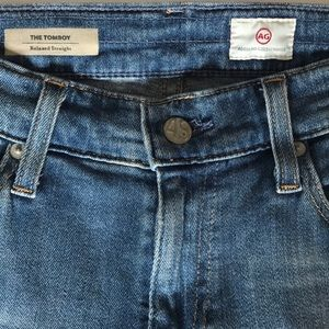 Ag Adriano Goldschmied Jeans - AG Tomboy relaxed straight